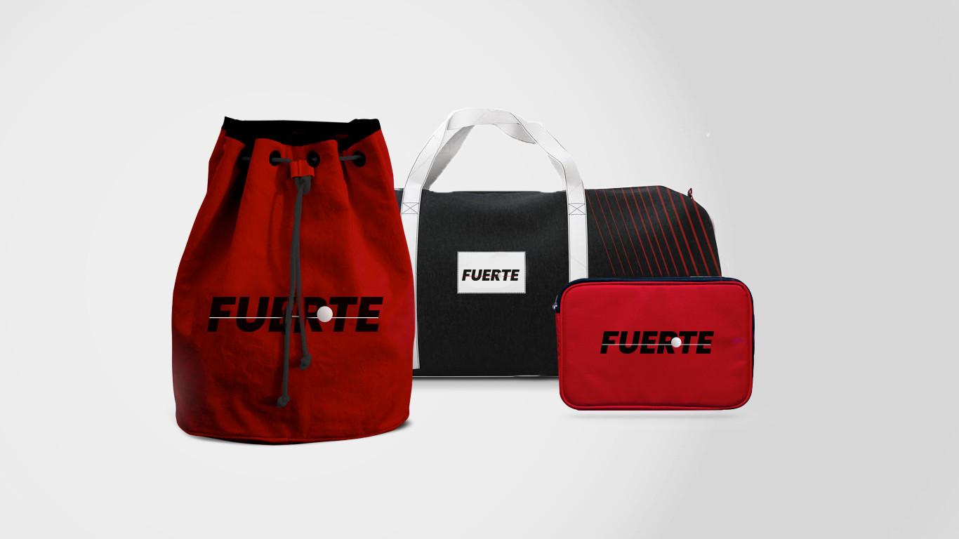 Фирменный стиль Fuerte